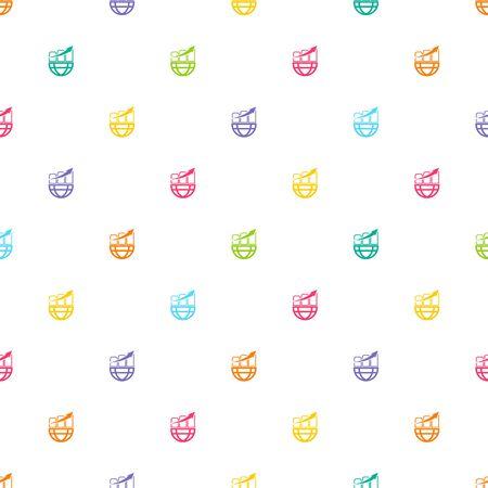 illustartion: Vector illustartion of graph icon Illustration
