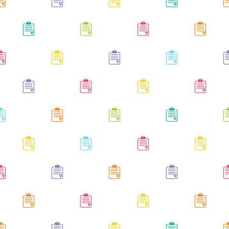 illustartion: Vector illustartion of document icon Illustration