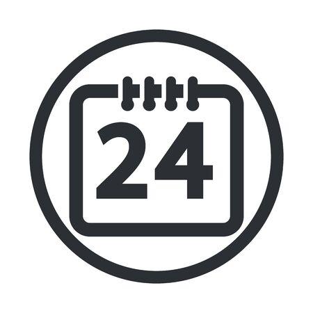 illustartion: Vector illustartion of calendar icon