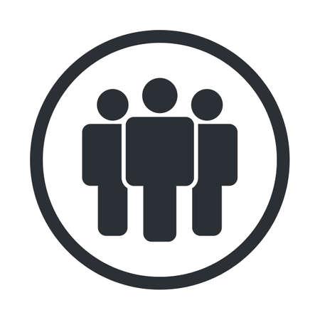 personal profile: User icon vector Illustration