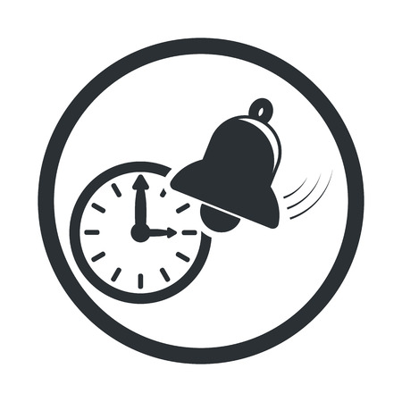 illustartion: Vector illustartion of bell icon