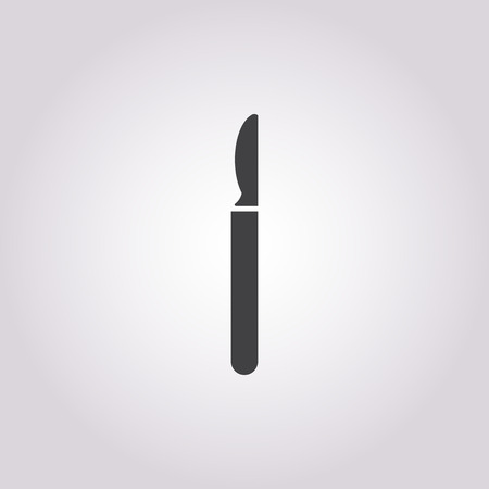 surgeon operating: vector illustration of surgery icon Illustration