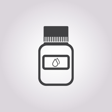 a tablet blister: vector illustration of pill icon