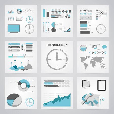 periods: vector illustration of clock icon Illustration