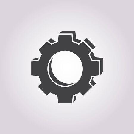 cogwheel: Vector illustration of   cogwheel icon Illustration