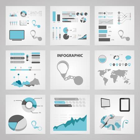 vector illustration of bad idea icon infographic Illustration