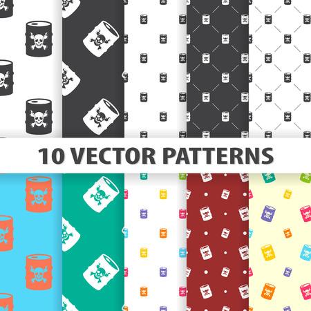 barel: vector illustration of  barrel icon pattern