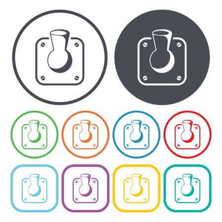 switch: Vector illustration of switch icon