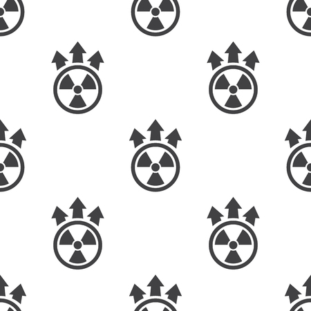 nuclear bomb: Vector illustration of nuclear icon