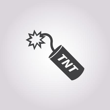 Vector illustration of TNT icon Illustration