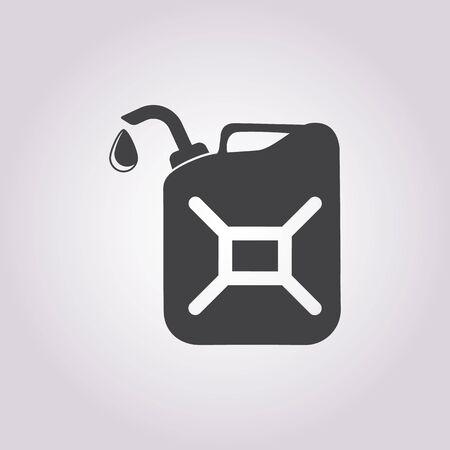 gallon: Vector illustration of gallon icon