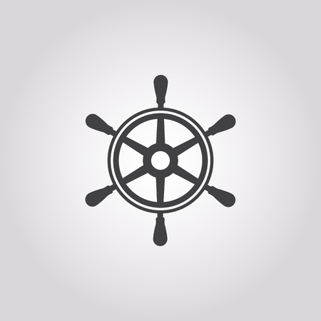 spin: Vector illustration of wheel icon