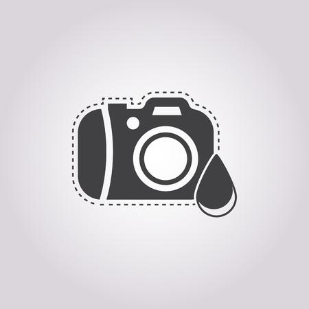 Vector illustration of Camera icon