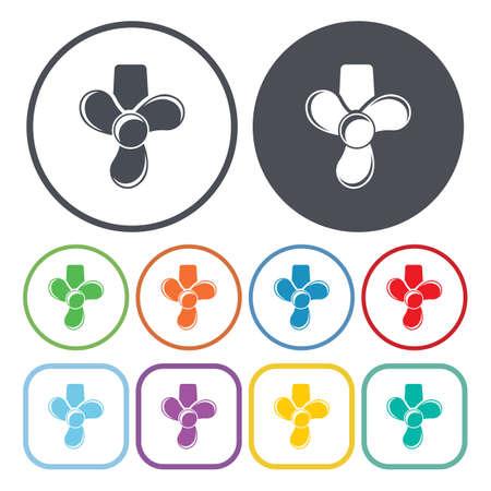 blades: Vector illustration of Blades icon
