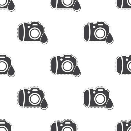 repellent: Vector illustration of Camera icon