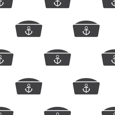 marinero: Ilustración del vector del icono de marinero traje Vectores