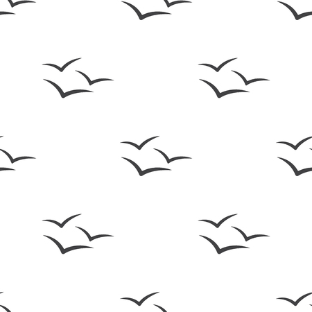 Vector illustration of Seagull icon