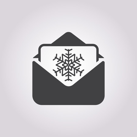 email lists: Vector illustration of envelope    icon