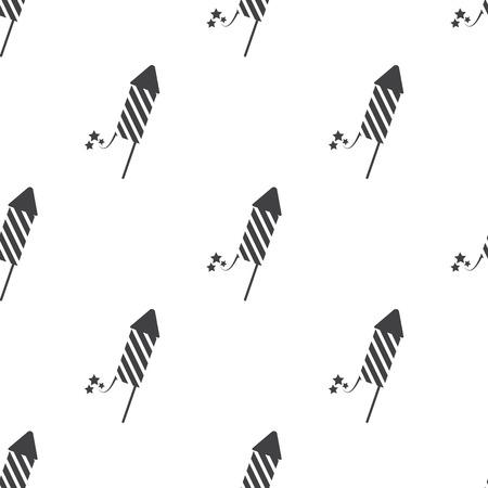 firecracker: Vector illustration of   firecracker   icon Illustration