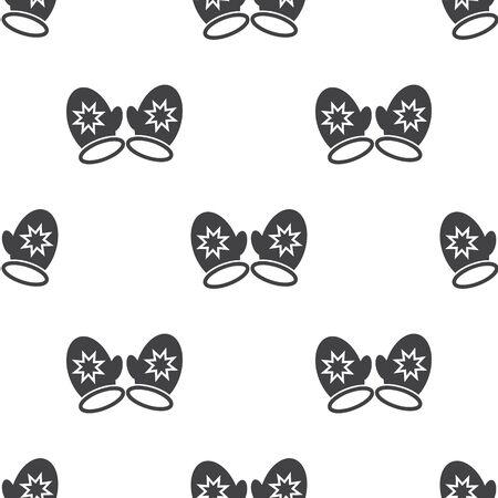 guantes: Ilustraci�n del vector del icono de los guantes