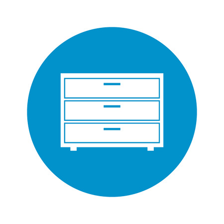 commode: Illustration of vector commode icon Illustration