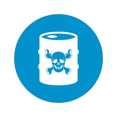 barel: vector illustration of  barrel icon