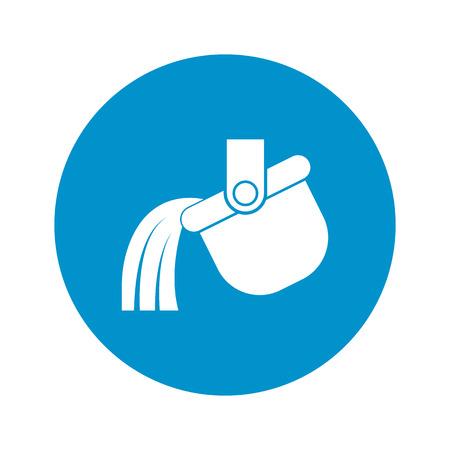 ladle: Vector illustration of ladle icon Illustration