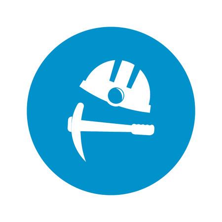 helmet: Vector illustration of helmet icon