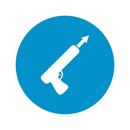 harpoon: Vector illustration of harpoon icon