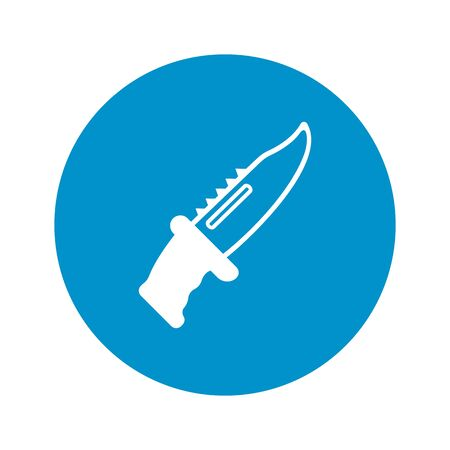 gripping: Vector illustration of Knife icon