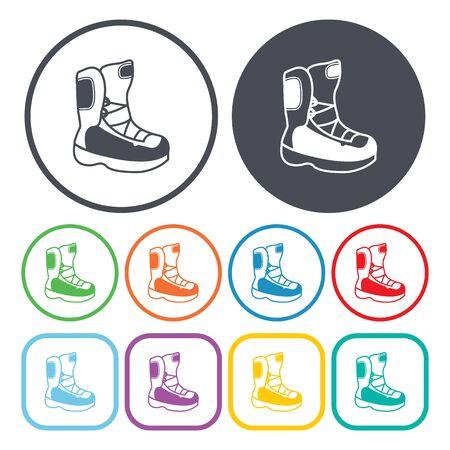 ilustration: Ilustration of boots