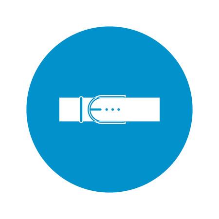 buckles: Ilustration of belt