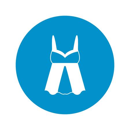 bodice: Ilustration of underwear