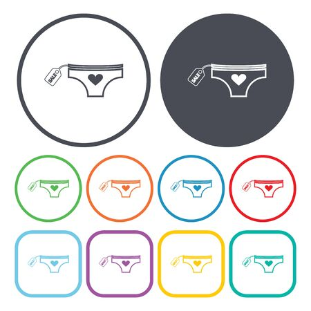 panties: Ilustration of panties