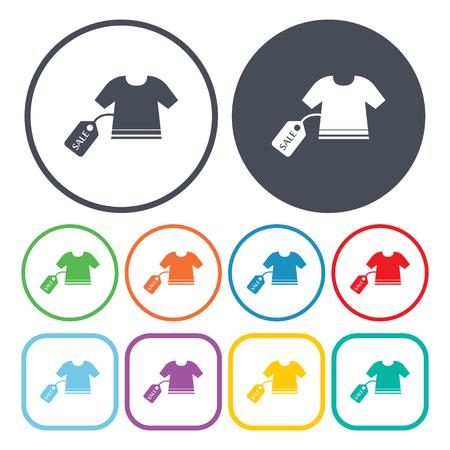 tshirt: Ilustration of t-shirt Illustration
