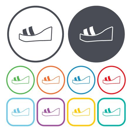 slippers: Ilustration of slippers