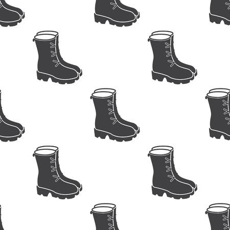 botas: Ilustraci�n de las botas
