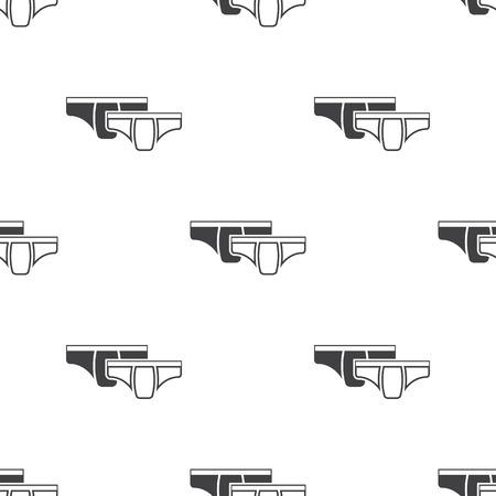 slip homme: Ilustration de pantalons Illustration