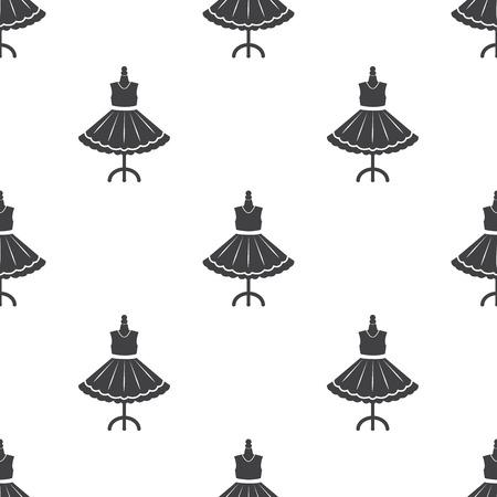 a frill: Ilustration of dress Illustration