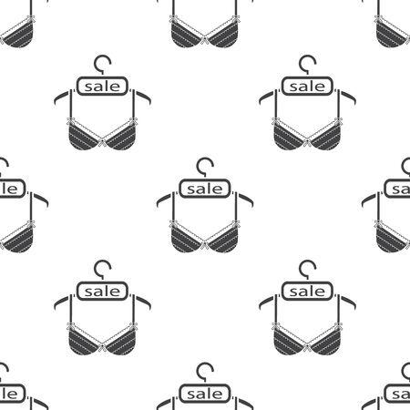 lace bra: Ilustration of bra