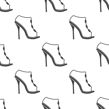 buckles: Ilustration of shoes