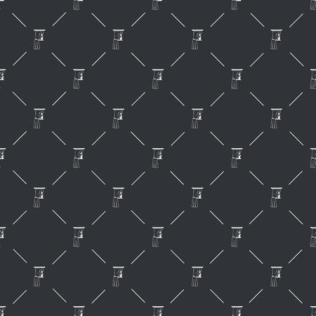 sill: Illustration of vector curtain icon