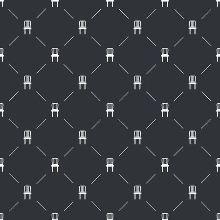 stools: Illustration of vector chair icon Illustration