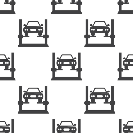 diagnostics: car diagnostics icon on white background for web Illustration