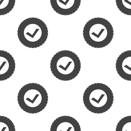 neumaticos: icono de neum�ticos en el fondo blanco para la web Vectores