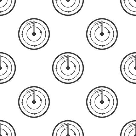 coordinates: radar  icon on white background for web