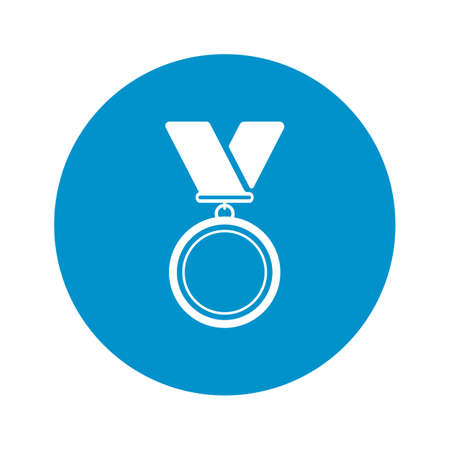 medalist: medal icon on white background for web