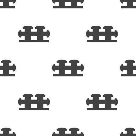 bollard: mooring bollard icon on white background for web Illustration