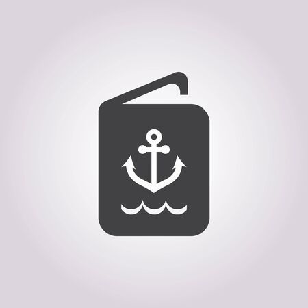 forage: sailor ID icon on white background for web