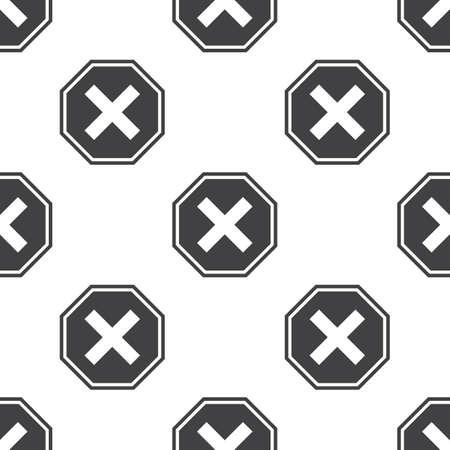interdiction: panneau d'interdiction ic�ne sur fond blanc pour le web